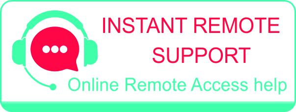 Instant Support Online Remote Help