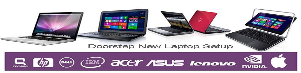 Doorstep New Laptop Setup